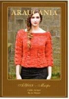 Araucania Knitting Pattern - Maipo DK Yarn , Ladies Cable Jumper AY008